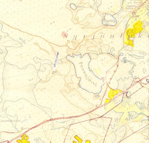 Kartta vuodelta 1937 2013