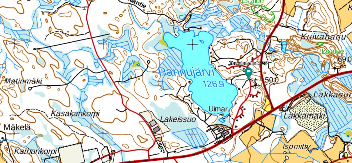 MML Peruskartta